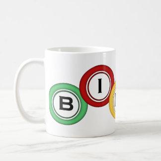 ビンゴ コーヒーマグカップ