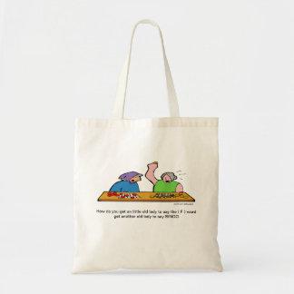 ビンゴFの単語の漫画のバッグ トートバッグ