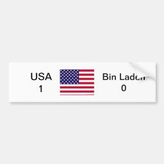 ビン・ラディン0対米国1 バンパーステッカー