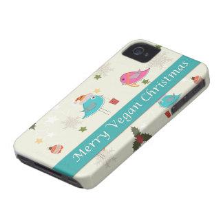 ビーガンのクリスマスのギフト Case-Mate iPhone 4 ケース
