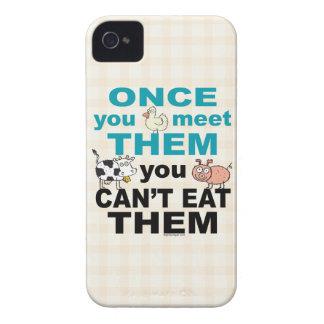 ビーガンのベジタリアンのiphone 4ケース Case-Mate iPhone 4 ケース