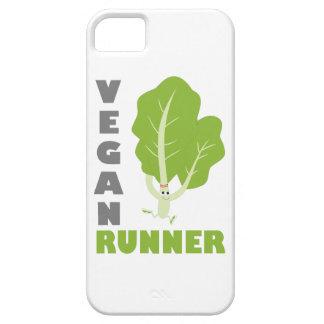 ビーガンのランナー-緑葉カンラン iPhone SE/5/5s ケース