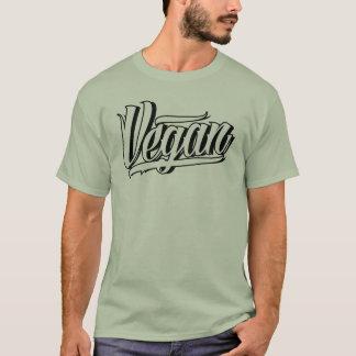 ビーガンの人のT Tシャツ