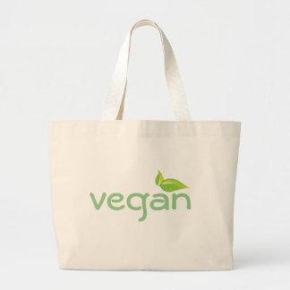 ビーガンの再使用可能な買い物袋 ラージトートバッグ