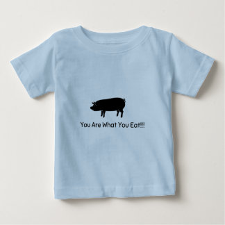 ビーガンの幼児 ベビーTシャツ