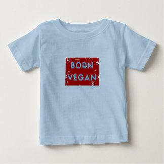 ビーガンの赤ん坊の衣服! かわいいおもしろいのスローガンを用いるTシャツをからかいます ベビーTシャツ