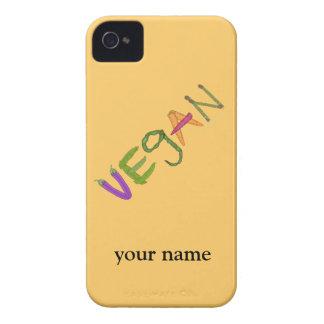 ビーガンの野菜の野菜恋人の名前をカスタムするのiphone Case-Mate iPhone 4 ケース