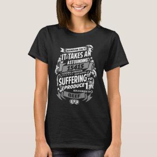 ビーガンの驚異的な事実 Tシャツ