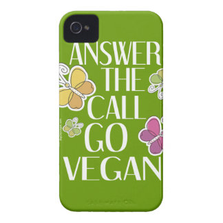 ビーガンのiPhoneは行きます Case-Mate iPhone 4 ケース