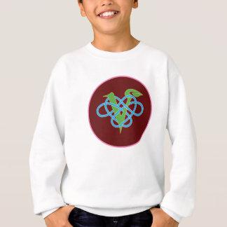 ビーガンのPolyamoryのケルト族の円 スウェットシャツ
