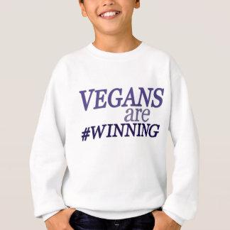 ビーガンはTシャツを#Winning スウェットシャツ