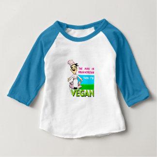 ビーガンまたはベジタリアンのシェフ ベビーTシャツ