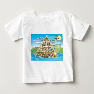 ビーガンピラミッド800x600 ベビーTシャツ
