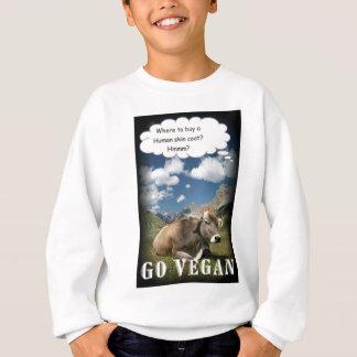 ビーガン牛 スウェットシャツ