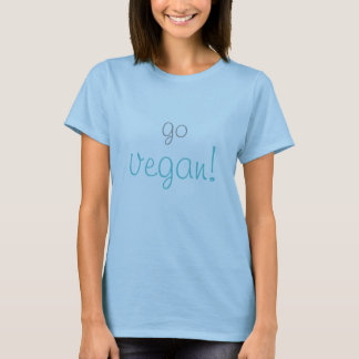 「ビーガン」はTシャツ行きます Tシャツ