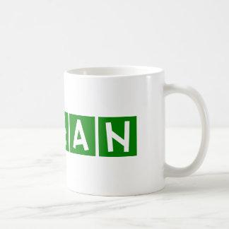 ビーガン コーヒーマグカップ