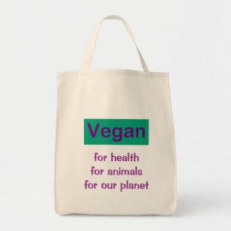 ビーガン: 健康、動物及び惑星のため トートバッグ