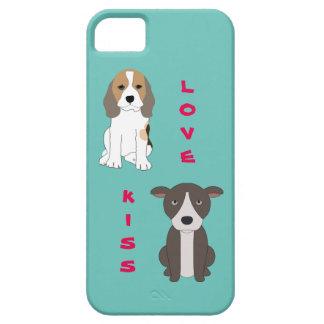 ビーグル犬および彼のピット・ブルの友人 Case-Mate iPhone 5 ケース