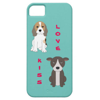 ビーグル犬および彼のピット・ブルの友人 iPhone SE/5/5s ケース