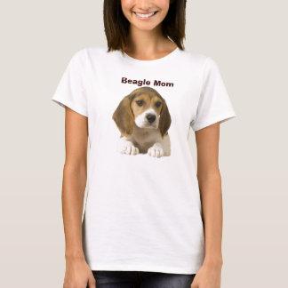 ビーグル犬のお母さんのTシャツ Tシャツ