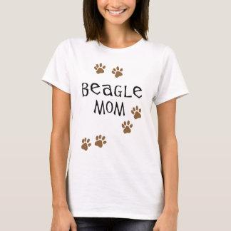 ビーグル犬のお母さん Tシャツ