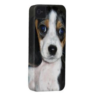 ビーグル犬のかわいこちゃんパイ Case-Mate iPhone 4 ケース