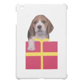 ビーグル犬のギフト用の箱 iPad MINIケース
