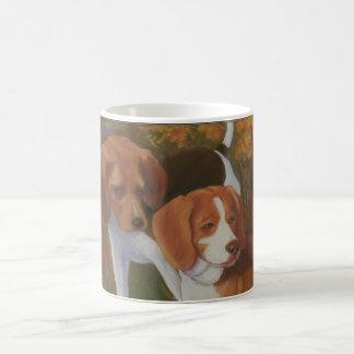 ビーグル犬のコーヒー・マグ コーヒーマグカップ