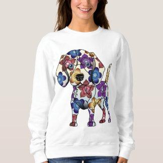 ビーグル犬のスエットシャツ スウェットシャツ