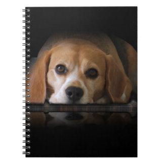 ビーグル犬のノート ノートブック