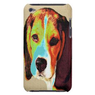 ビーグル犬のポップアート Case-Mate iPod TOUCH ケース