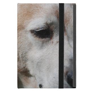 ビーグル犬のポートレート iPad MINI カバー