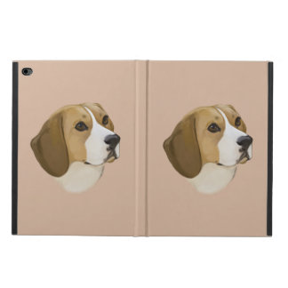 ビーグル犬のポートレート POWIS iPad AIR 2 ケース