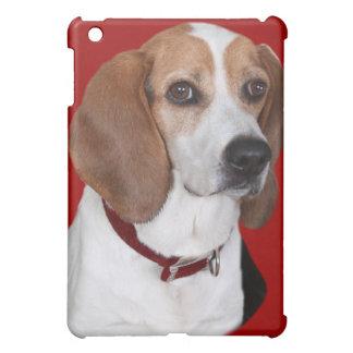 ビーグル犬のポートレートIPADの場合 iPad MINI CASE