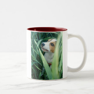 ビーグル犬のマグ ツートーンマグカップ