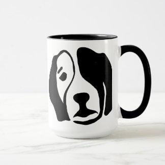 ビーグル犬のマグ マグカップ