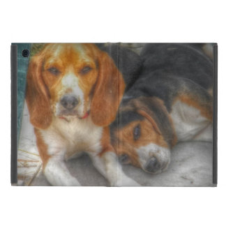 ビーグル犬の兄弟 iPad MINI ケース