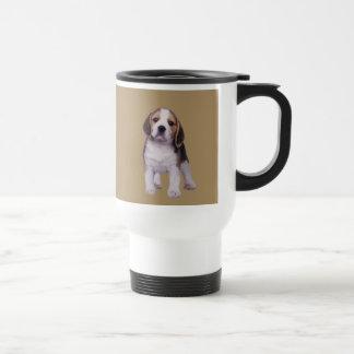 ビーグル犬の子犬のタンブラー トラベルマグ