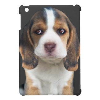 ビーグル犬の子犬のポートレートのギフト iPad MINIカバー