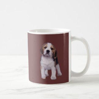 ビーグル犬の子犬のマグ コーヒーマグカップ