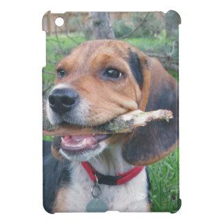 ビーグル犬の子犬の咀嚼の時間 iPad MINI CASE