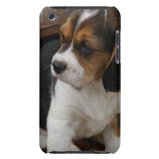 ビーグル犬の子犬のiTouchの場合 Case-Mate iPod Touch ケース