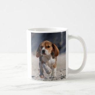 ビーグル犬の子犬 コーヒーマグカップ