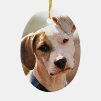 ビーグル犬の子犬 セラミックオーナメント