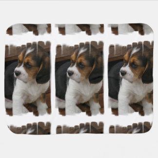 ビーグル犬の子犬 ベビー ブランケット