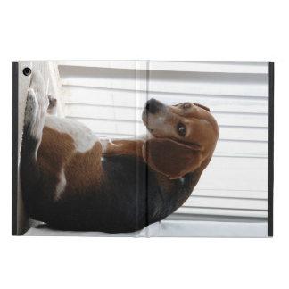 ビーグル犬の態度 iPad AIRケース