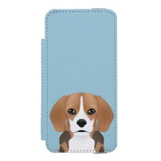 ビーグル犬の漫画 INCIPIO WATSON™ iPhone 5 財布 ケース