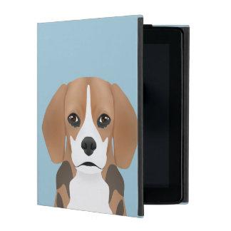 ビーグル犬の漫画 iPad カバー