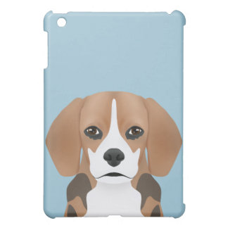 ビーグル犬の漫画 iPad MINIカバー