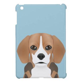 ビーグル犬の漫画 iPad MINIケース